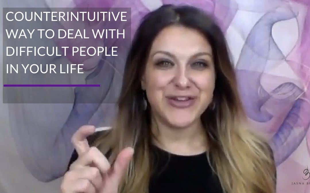 Counterintuitive way to deal with difficult people in your life