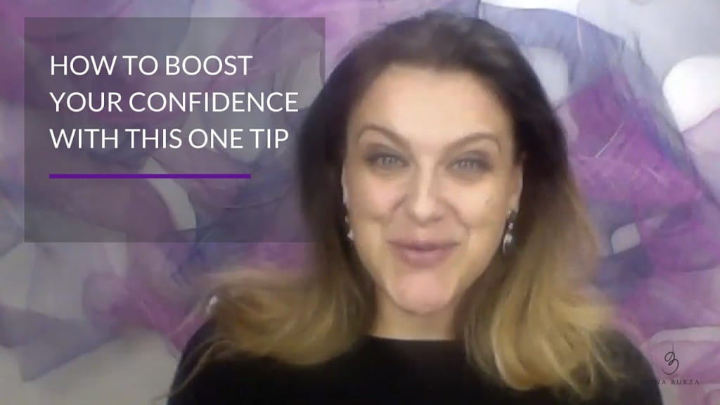How to boost confidence with this one tip | Jasna Burza, Life Coach and Business Coach Minneapolis