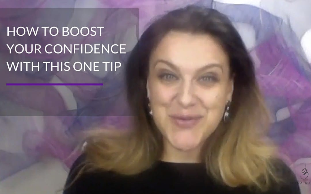 How to boost confidence with this one tip